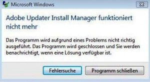 adobe_reader_updater_funktioniert_nicht